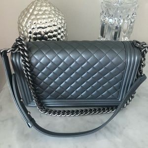CHANEL Bags - SOLD ❤️in other site Chanel Le Boy 2014 Mint